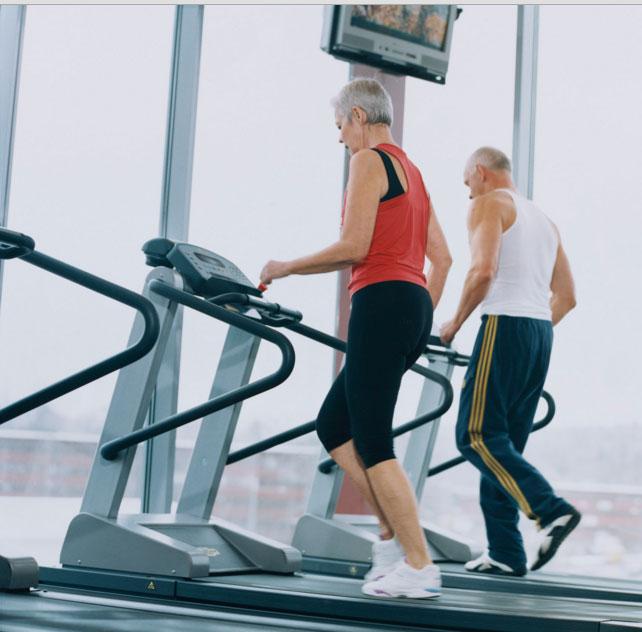 máy tập thể dục cho người già